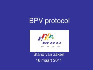 BPV protocol