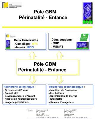 Pôle GBM Périnatalité - Enfance