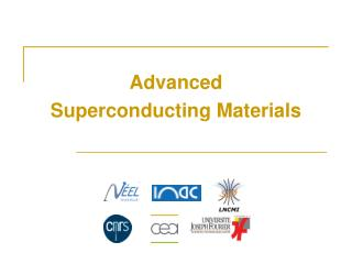 Advanced Superconducting Materials
