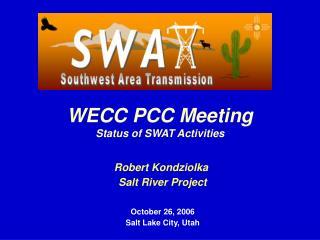 Robert Kondziolka  Salt River Project