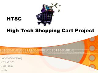 HTSC High Tech Shopping Cart Project