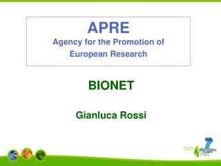 APRE Agency for the Promotion of European Research