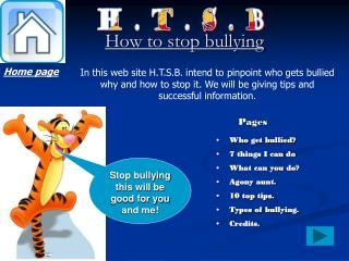 How to stop bullying