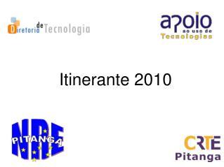 Itinerante 2010