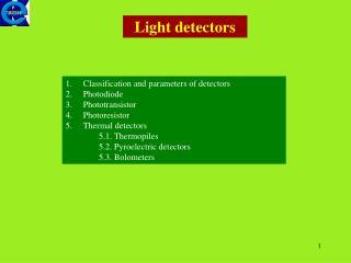Light detectors