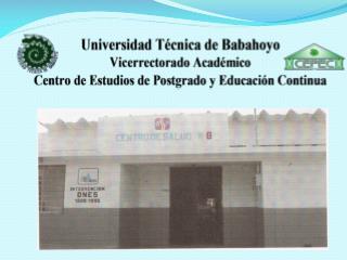 CENTRO DE ESTUDIOS DE POSTGRADO Y EDUCACIÓN CONTINUA