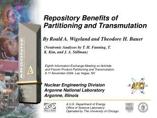 Repository Benefits of Partitioning and Transmutation