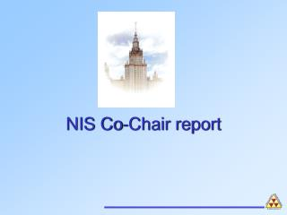 NIS Co-Chair report