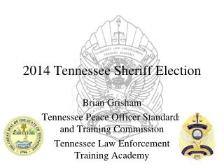 2014 Tennessee Sheriff Election