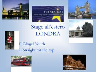 Stage all'estero LONDRA