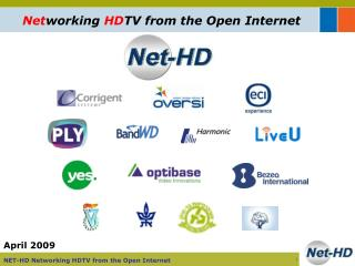 Net working  HD TV from the Open Internet
