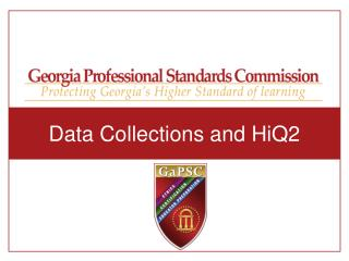 Data Collections and HiQ2