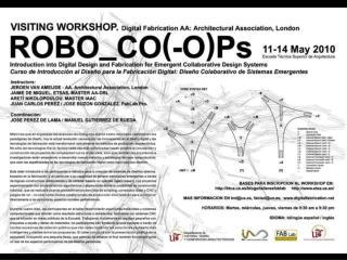 [workshop team] Instructors    Jeroen van Ameijde Architectural Association, London