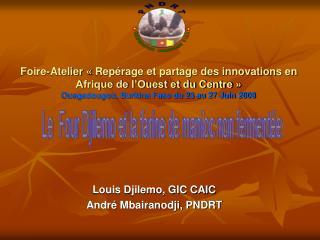 Foire-Atelier   Rep rage et partage des innovations en Afrique de l Ouest et du Centre    Ouagadougou, Burkina Faso du 2