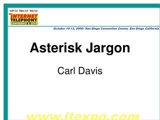 Asterisk Jargon