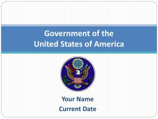 Government of the  United States of America