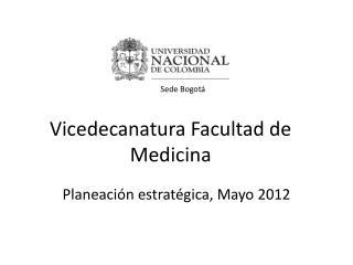 Vicedecanatura Facultad de Medicina