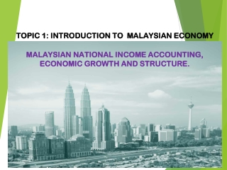 Which is the primary use for national income accounting