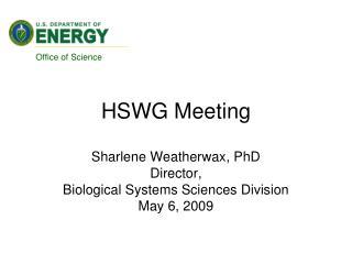 HSWG Meeting