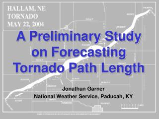 A Preliminary Study on Forecasting Tornado Path Length