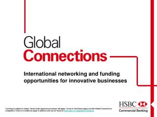 International networking and funding opportunities for innovative businesses
