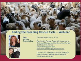 Ending the Breeding Rescue Cycle – Webinar