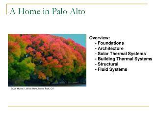 A Home in Palo Alto