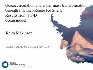 Ocean circulation and water mass transformation beneath Filchner-Ronne Ice Shelf: