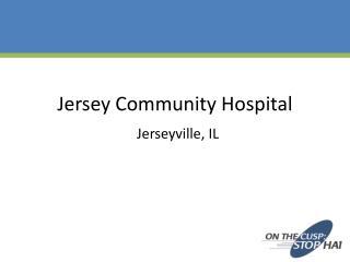Jersey Community Hospital