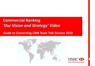 Commercial Banking 'Our Vision and Strategy' Video