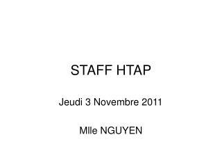 STAFF HTAP