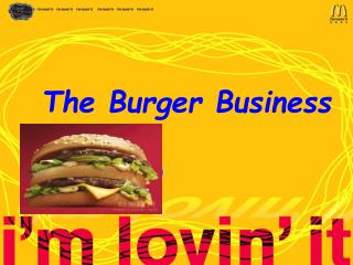 The Burger Business