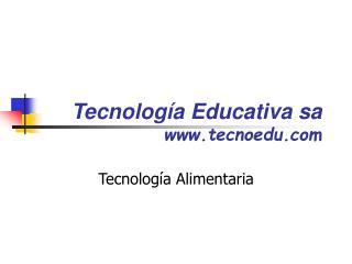 Tecnología Educativa sa tecnoedu