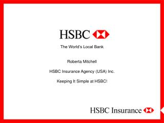 HSBC BANK – A FEW FACTS