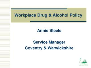 Workplace Drug & Alcohol Policy