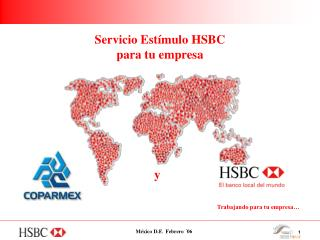 Servicio Estímulo HSBC para tu empresa