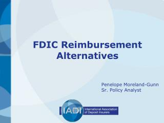FDIC Reimbursement Alternatives