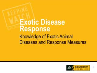Knowledge of Exotic Animal Diseases and Response Measures