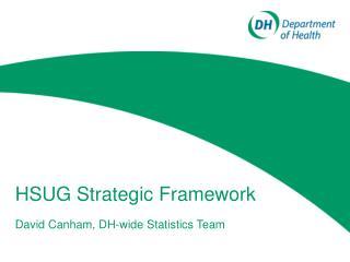 HSUG Strategic Framework