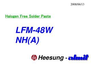 Halogen Free Solder Paste