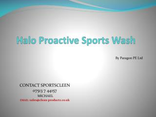 Halo Proactive Sports Wash