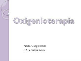Oxigenioterapia