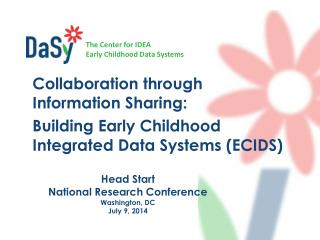 Head Start  National Research Conference Washington, DC July 9, 2014