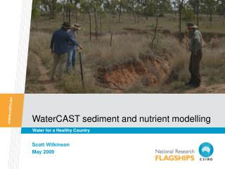 WaterCAST sediment and nutrient modelling