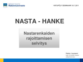NASTA  - HANKE
