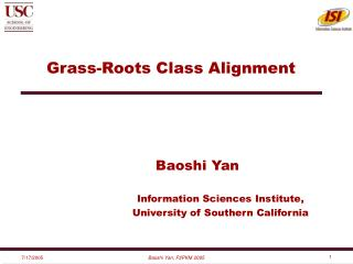 Grass-Roots Class Alignment