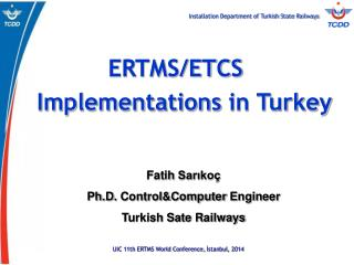 ERTMS/ETCS    Implementations in Turkey
