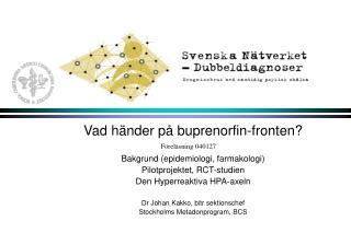 Vad händer på buprenorfin-fronten? Bakgrund (epidemiologi, farmakologi)