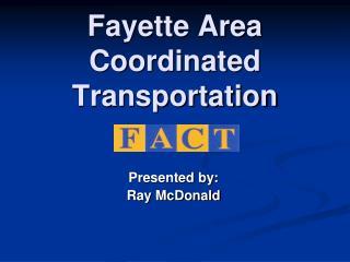 Fayette Area Coordinated Transportation