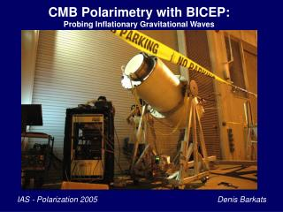 CMB Polarimetry with BICEP: Probing Inflationary Gravitational Waves